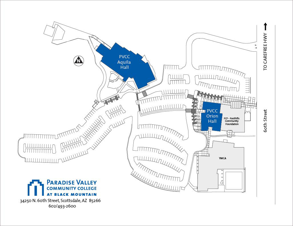 Black Mountain Campus Map