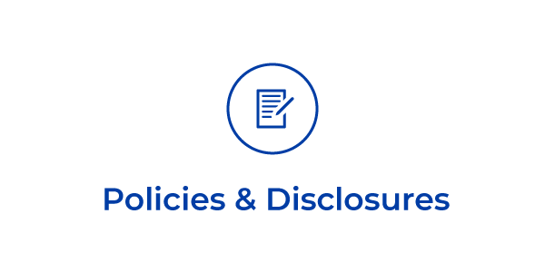 Policies and Discloures
