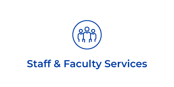 Staff & Faculty Services