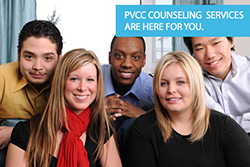 PVCC Counseling Services are Here for You
